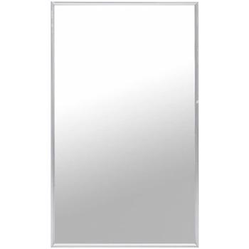 Casa Espelhos VidaXL Espelho 100 x 60 cm Prateado