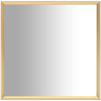 Casa Espelhos VidaXL Espelho 70 x 70 cm Ouro