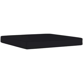 Casa Almofada de cadeira VidaXL Almofadão para móveis de paletes Preto
