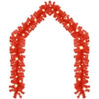 Casa Decorações festivas VidaXL Grinalda 5 m Vermelho