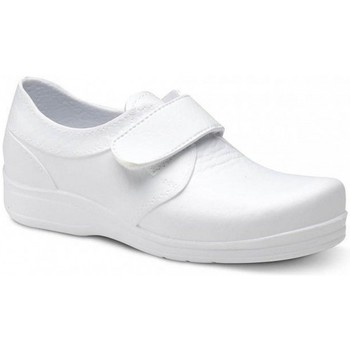 Sapatos Homem Sapatilhas Feliz Caminar ZAPATO SANITARIO VELCRO UNISEX FLOTANTES VELCRO Branco