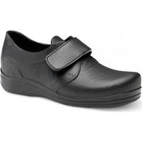 Sapatos Homem Sapatilhas Feliz Caminar ZAPATO SANITARIO VELCRO UNISEX FLOTANTES VELCRO Preto