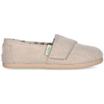 Sapatos Criança Sapatilhas Paez Alpercatas Criança Gum Classic Combi Sand Bege