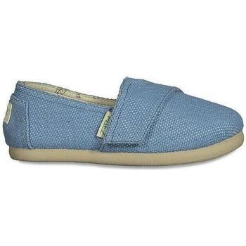 Sapatos Criança Sapatilhas Paez Alpercatas Criança Gum Classic Panama Aqua Azul