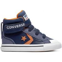 Sapatos Criança Sapatilhas de cano-alto Converse Pro blaze strap hi Azul