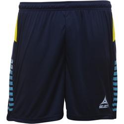 Textil Rapaz Shorts / Bermudas Select Short enfant  player pop art bleu marine/bleu clair/jaune