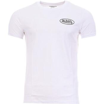 Textil Homem T-Shirt mangas curtas Von Dutch  Branco