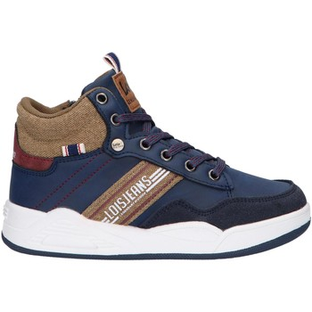 Sapatos Criança Sapatilhas de cano-alto Lois 63144 Azul