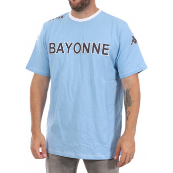 Textil Homem T-Shirt mangas curtas Kappa  Azul