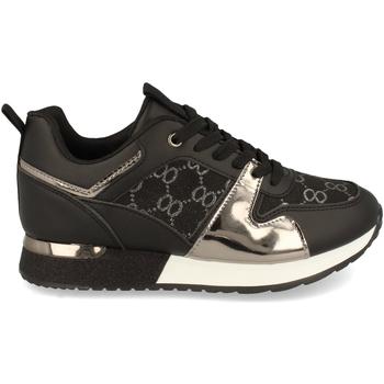 Sapatos Mulher Sapatilhas Woman Key P100 Negro