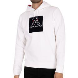 Textil Homem Sweats Kappa  Branco