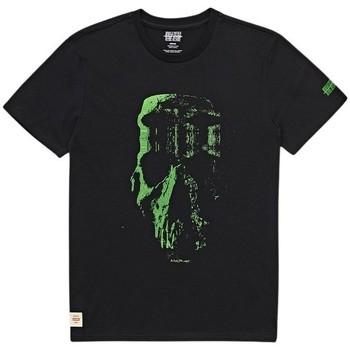 Textil Homem T-Shirt mangas curtas Globe T-shirt  Refuse Skull noir