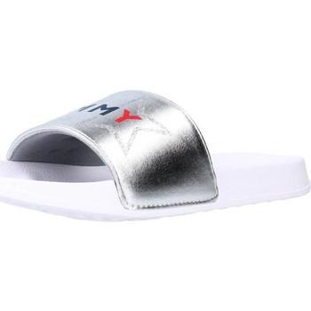 Sapatos Rapariga chinelos Tommy Hilfiger T3A0 30890 Silver