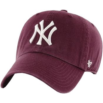 Acessórios Homem Boné 47 Brand New York Yankees MLB Clean Up Cap Bordeaux
