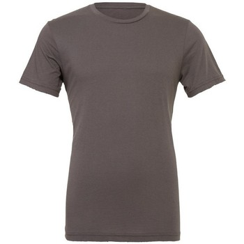 Textil Homem T-Shirt mangas curtas Bella + Canvas CA3001 Asfalto
