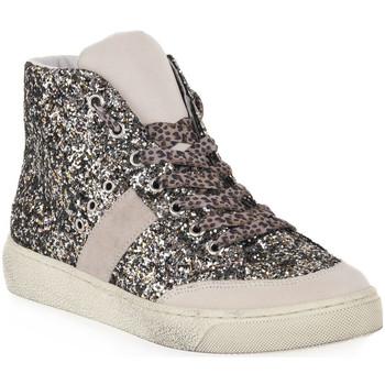 Sapatos Mulher Sapatilhas de cano-alto At Go GO GINGER GESSO Bianco