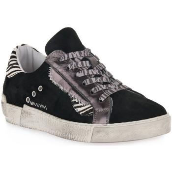Sapatos Mulher Sapatilhas At Go GO 4102 VELOUR NERO Nero