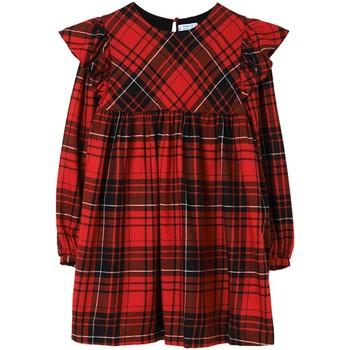 Textil Rapariga Vestidos curtos Mayoral  Rojo