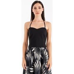 Textil Mulher Tops / Blusas Rinascimento CFC0105101003 Preto