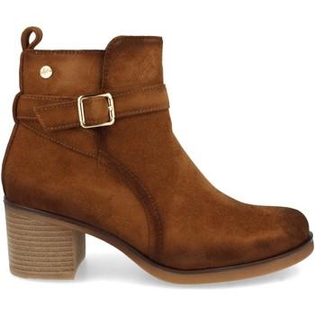 Sapatos Mulher Botins Clowse VR1-353 Cuero