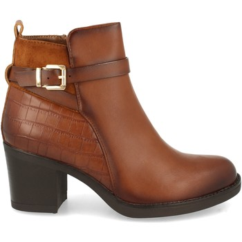 Sapatos Mulher Botins Clowse VR1-327 Cuero