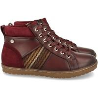 Sapatos Mulher Sapatilhas de cano-alto Clowse VR1-372 Burdeos