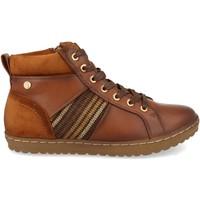 Sapatos Mulher Sapatilhas de cano-alto Clowse VR1-372 Cuero