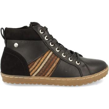 Sapatos Mulher Sapatilhas de cano-alto Clowse VR1-372 Negro