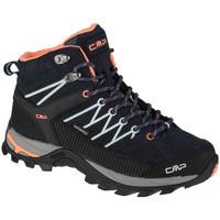 Sapatos Mulher Sapatos de caminhada Cmp Rigel Mid Bleu marine