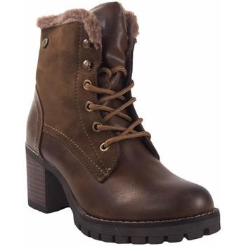 Sapatos Mulher Botas baixas Deity Booty senhora  20063 YQB terra Castanho