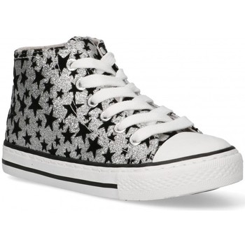 Sapatos Rapariga Sapatilhas de cano-alto Bubble 58906 prata