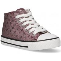 Sapatos Rapariga Sapatilhas de cano-alto Bubble 58907 rosa