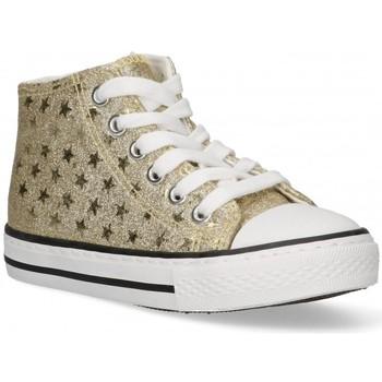 Sapatos Rapariga Sapatilhas de cano-alto Bubble 58908 ouro