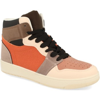 Sapatos Mulher Sapatilhas de cano-alto Buonarotti 2CD-1421 Naranja