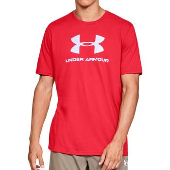 Textil Homem T-Shirt mangas curtas Under Armour  Vermelho