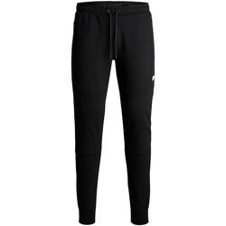 Textil Criança Calças de treino Jack & Jones Pantalon enfant  will air black