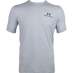 Textil Homem T-Shirt mangas curtas Under Armour Rush Energy Branco