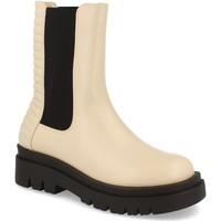 Sapatos Mulher Botins Milaya 8K13 Beige
