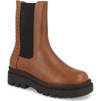 Sapatos Mulher Botins Milaya 8K13 Camel