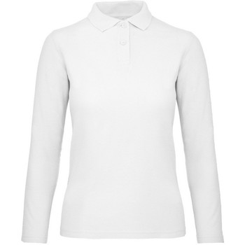 Textil Mulher Polos mangas compridas B And C PWI13 Neve