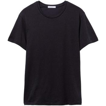Textil Homem T-Shirt mangas curtas Alternative Apparel AT015 Verdadeiro Negro