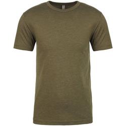 Textil Homem T-Shirt mangas curtas Next Level NX6010 Verde Militar