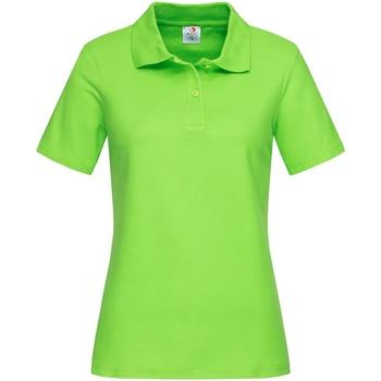 Textil Mulher T-shirts e Pólos Stedman  Kiwi Green