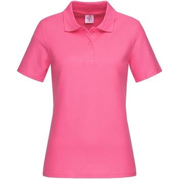Textil Mulher T-shirts e Pólos Stedman  Doce Rosa