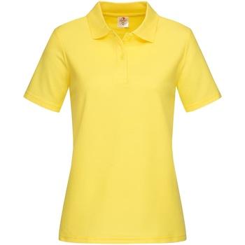 Textil Mulher T-shirts e Pólos Stedman  Amarelo