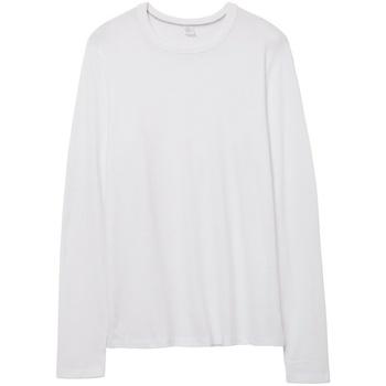 Textil T-shirt mangas compridas Alternative Apparel AT014 Branco