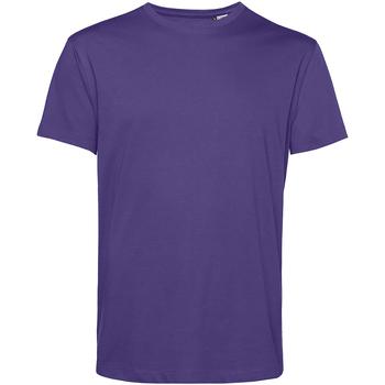 Textil Homem T-Shirt mangas curtas B&c TU01B Púrpura Radiante