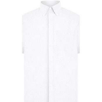 Textil Homem Camisas mangas curtas Absolute Apparel  Branco