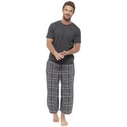 Textil Homem Pijamas / Camisas de dormir Foxbury  Cheque cinzento