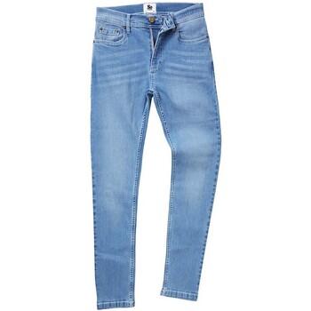 Textil Homem Calças Jeans Awdis SD004 Light Blue Wash